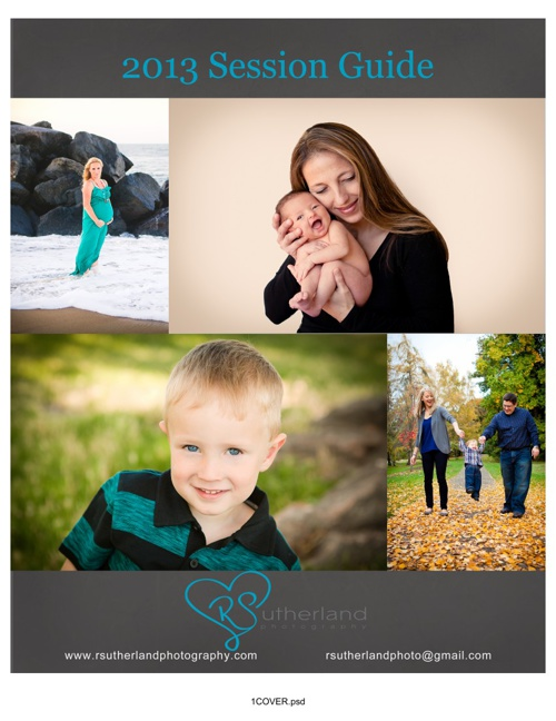 RSutherland Photography 2013 Session Guide