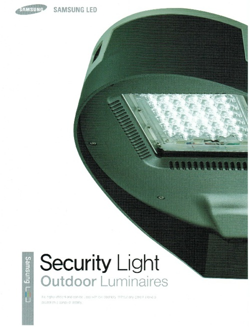 Security Light - Outdoor Luminaires