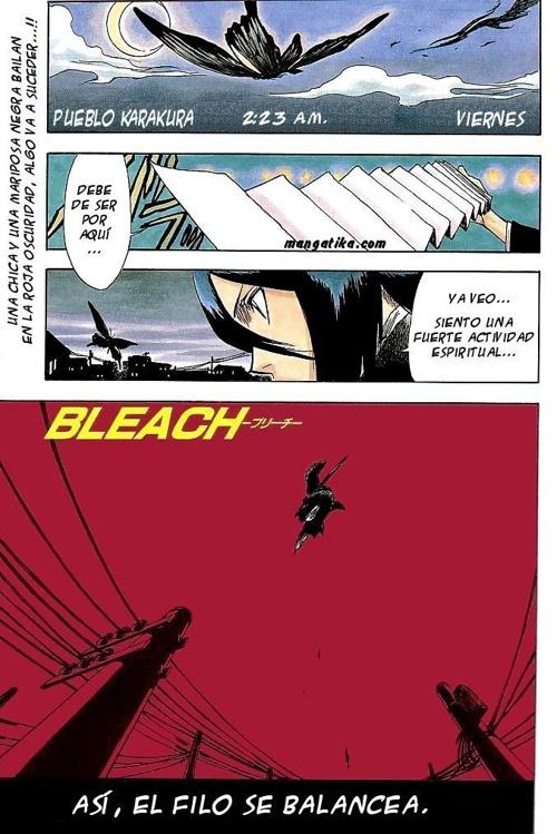 BLEACH (MUERTE Y FREASAS) 001