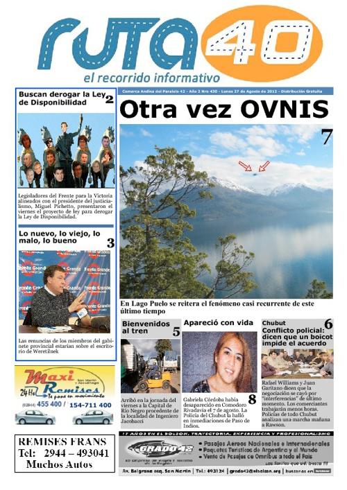 Diario del 27 de agosto