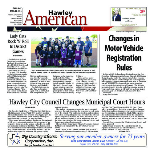 Hawley - Volumn 7 Issues 43