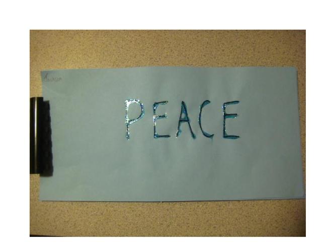 A Kindergartner's Peace Book