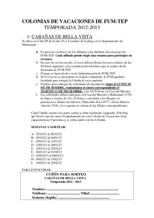 Cabañas Vella Vista y Jaureguiberry