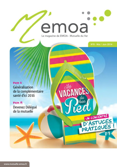 M'Emoa 8 - Magazine Emoa Mutuelle du Var