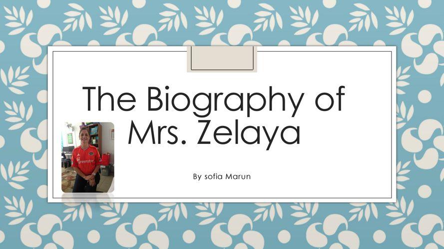 Sofía Marun - Mrs. Zelaya (1)