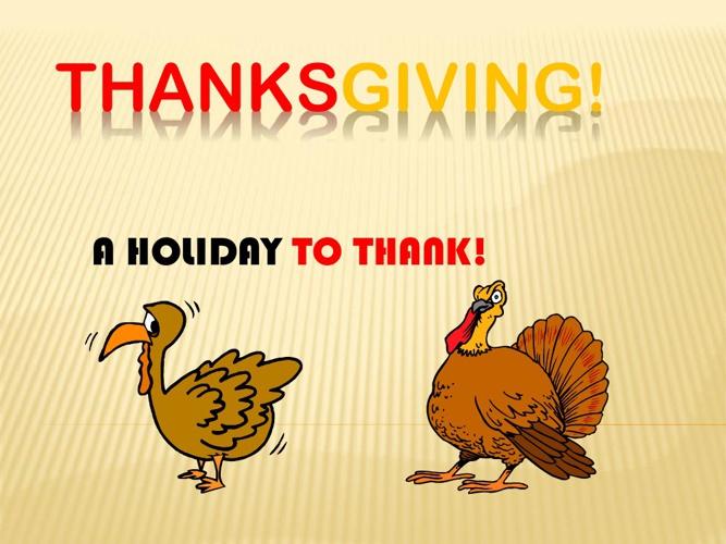 power point caro thanksgiving