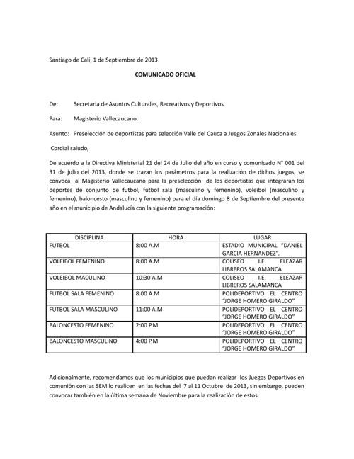 JUEGOS DEPORTIVOS SUTEV