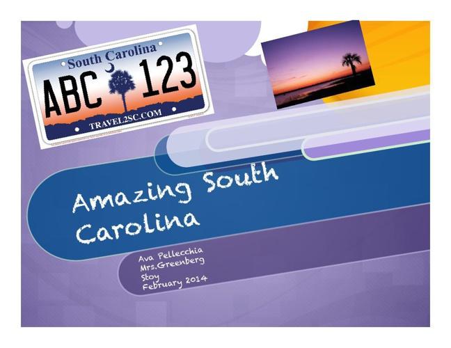 Ava South Carolina final