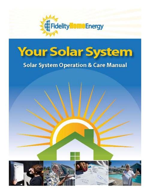 Fidelity Solar Manual V3-25-2014