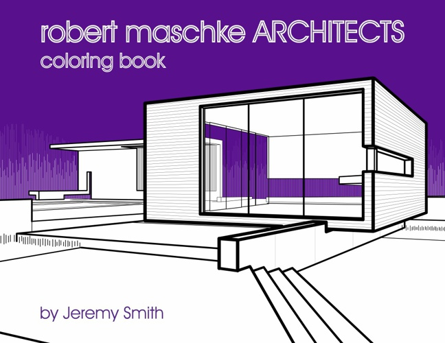 Robert Maschke Architects Coloring Book