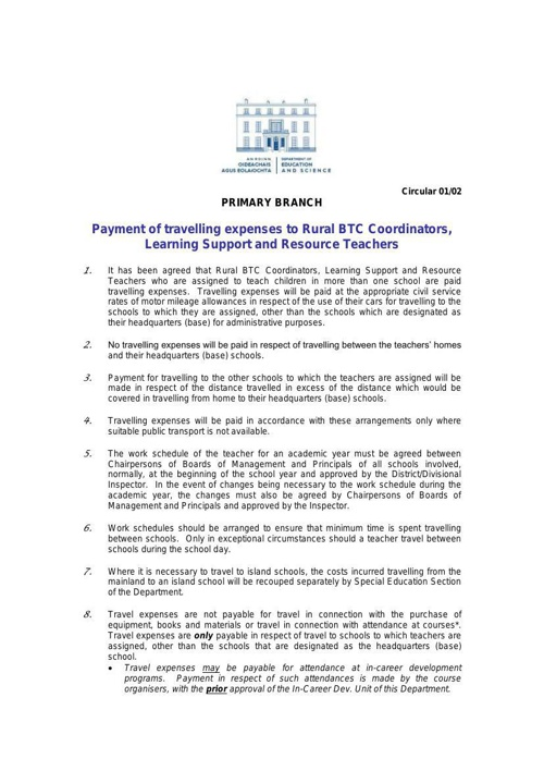 june 14Payment-of-travelling-expenses-to-Rural-BTC-Coordinators-