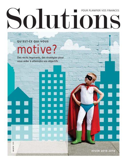 Magazine Solutions hiver 2015 par Manuvie