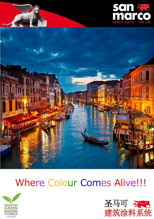 San Marco Paints Asia