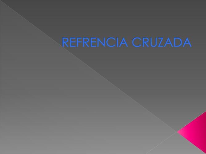 AGREGAR UNA REFERENCIA