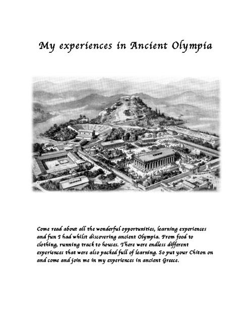 Ancient Greece Flip Book