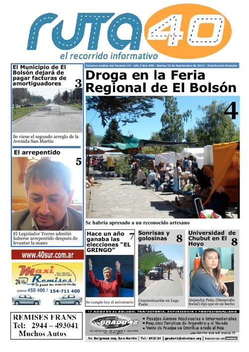 Diario Martes 25 de Septiembre