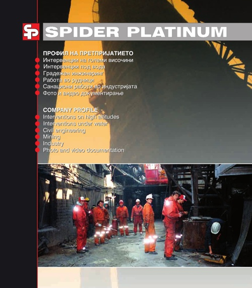 SPIDER PLATINUM CATALOGUE