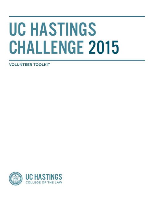 UC Hastings Challenge Toolkit 2015