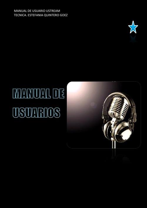Manual de emisora de ustream