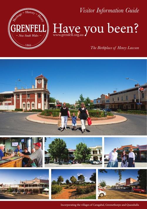 Grenfell Tourism Brochure