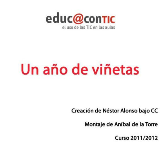 un_ano_de_vinetas_en_educacontic