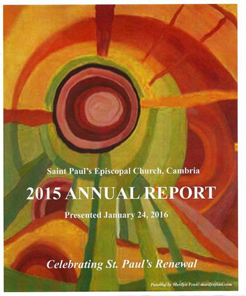St Pauls Annual Report 2015