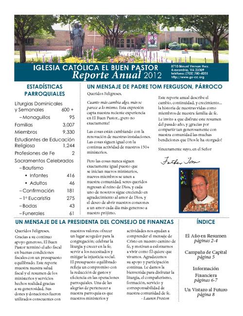 GSCC Reporte Annual 2012