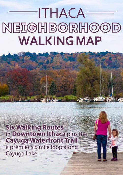Ithaca Neighborhood Walking Map
