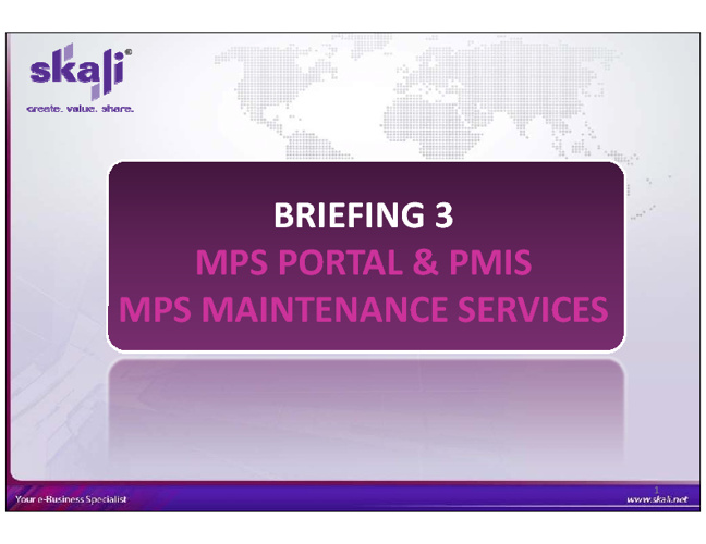 MPS Briefing 3