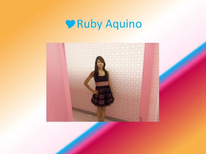 Ruby Aquino's Life :)
