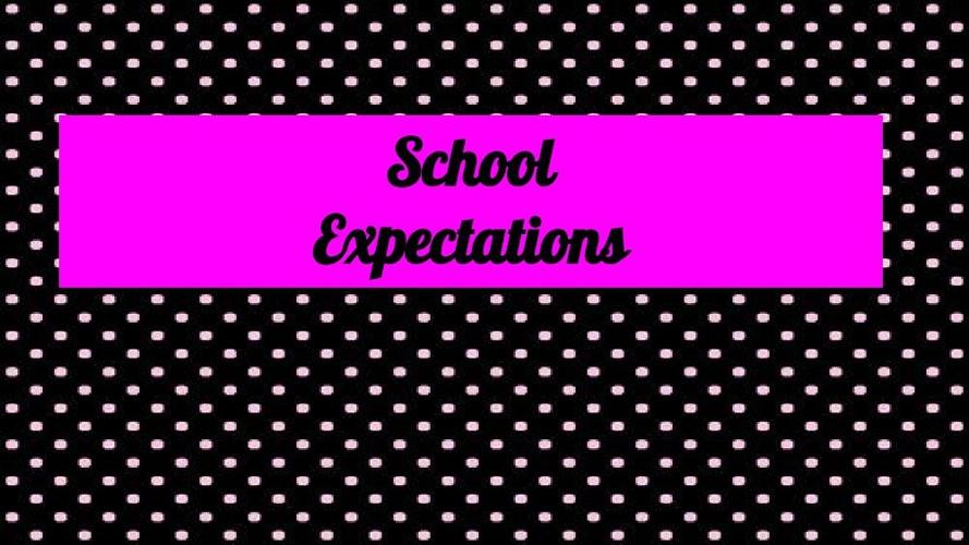 Adriana's School Rules.