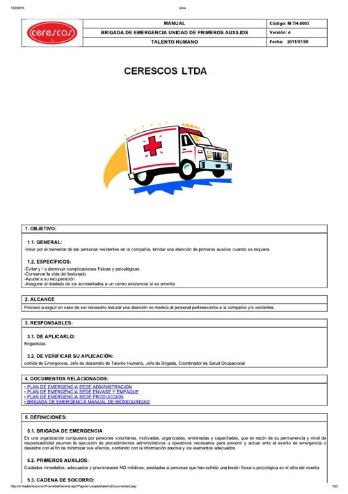 M-TH-0003 BRIGADA DE EMERGENCIA UNIDAD DE PRIMEROS AUXILIOS_v4