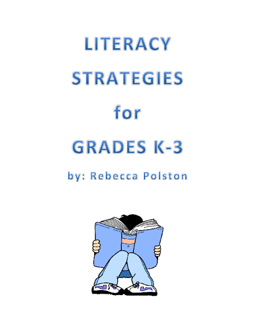 Literacy Stragies for Grades K-3
