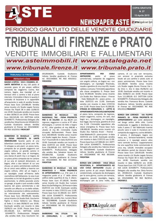 Firenze Prato aprile 2015