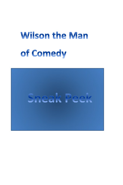Wilson's Sneek Peek Book