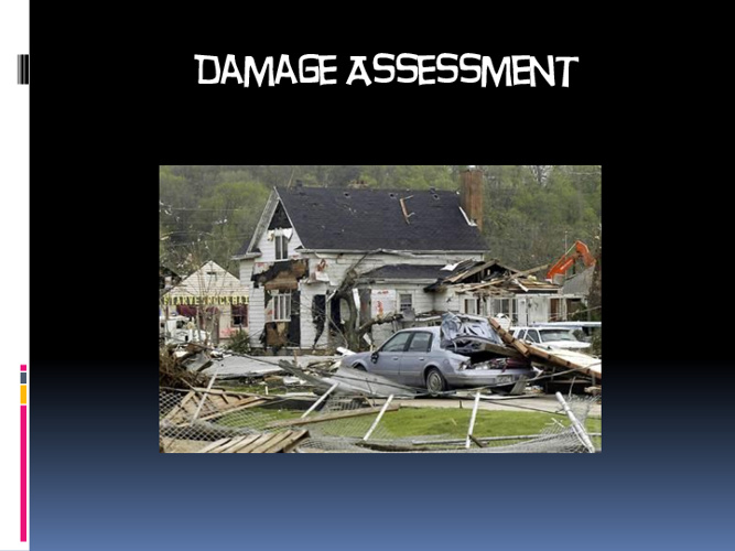 Damage Assessment Center_Mapping