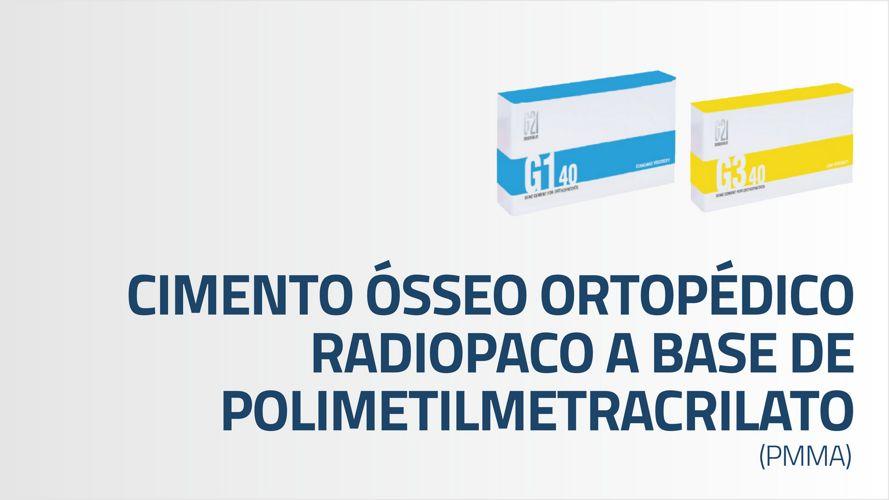 Macom - Cimento Ósseo Ortopédico