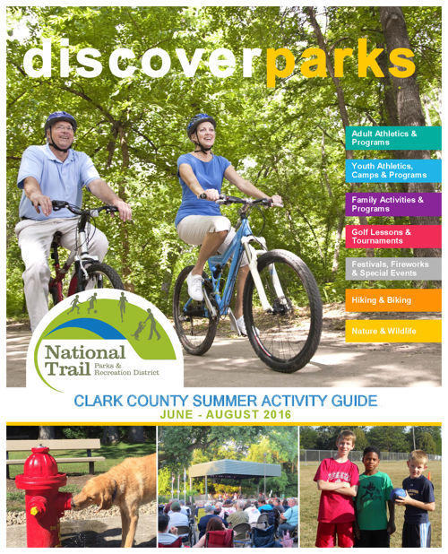 National Trail Parks & Recreation District Summer Activity Guide