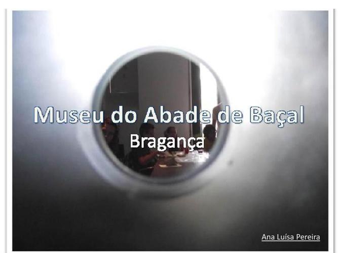Serviços Educativos - Museu do Abade de Baçal