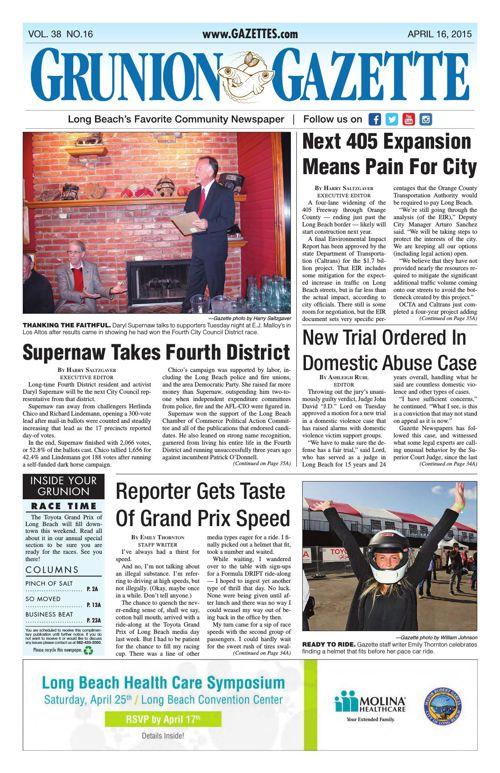 Grunion Gazette | April 16, 2015
