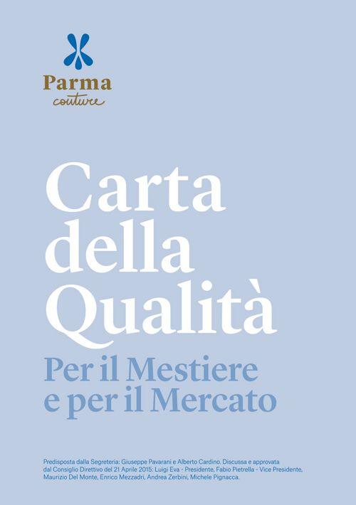 Carta della Qualità - Charter of Quality