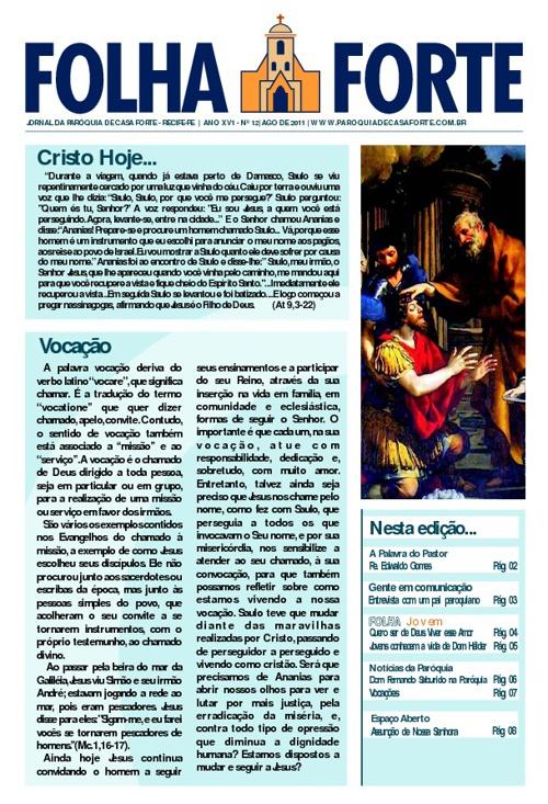 Folha Forte Agosto - 2011