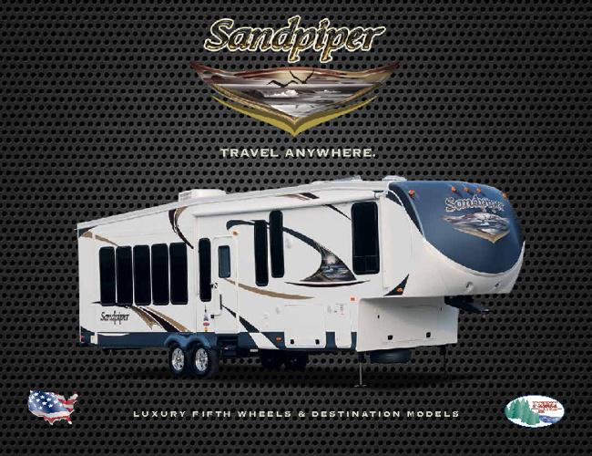 Sandpiper by Forestriver RV brochure