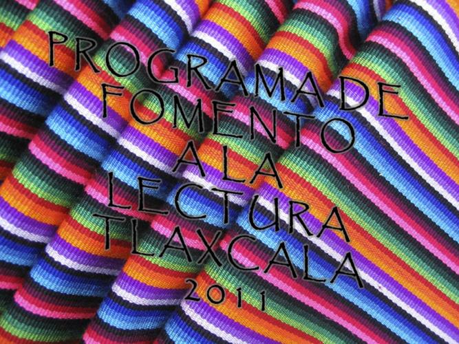 Programa Fomento a la Lectura Tlaxcala