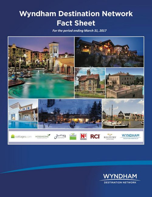 Wyndham Destination Fact Sheet