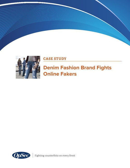 Denim Fashion Brand Fights Online Fakers