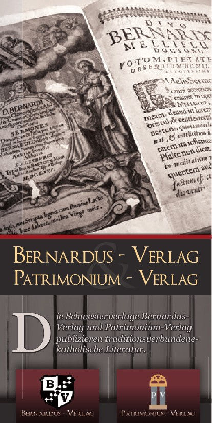 Broschüre Bernardus- & Patrimonium-Verlag