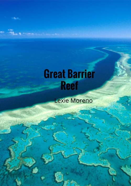 The Great Barrier Reef By Lexie Moreno SE3