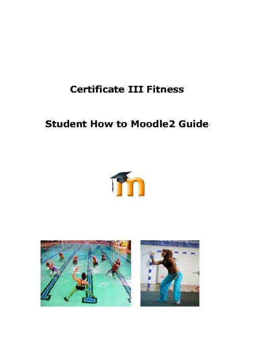 Certificate III Fitness
