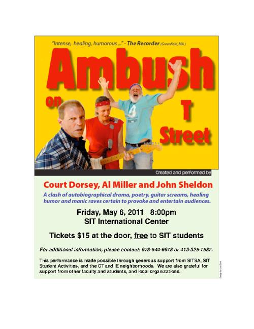 AMBUSH ON T - AT SIT - FRIDAY, MAY 6, 2011
